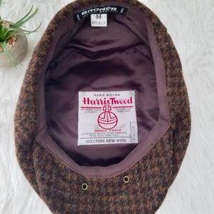 VINTAGE WOOL NEWSBOY CAP 100% wool